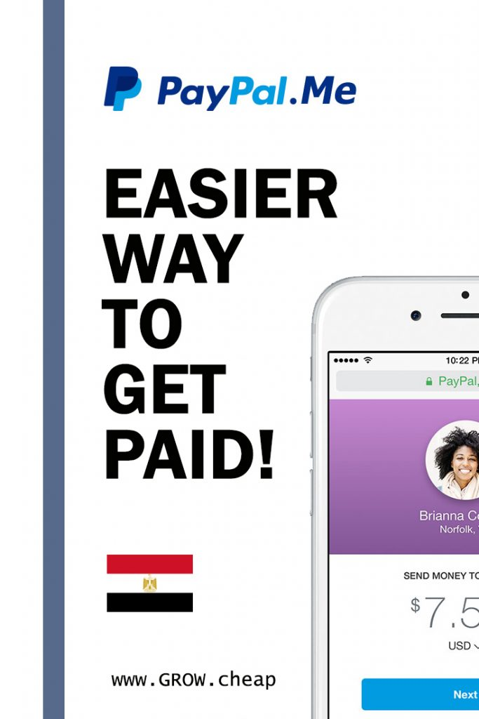 PayPal Me Egypt: Easier Way To Get Paid #PayPal #Egypt #Blogging