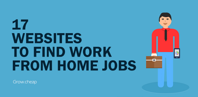 17 Websites To Find Work From Home Jobs in Egypt #Freelance