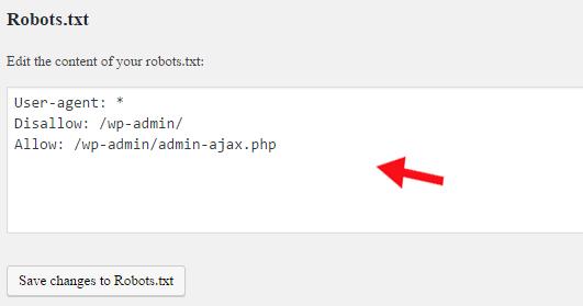 Robots.txt file editor - Yoast SEO