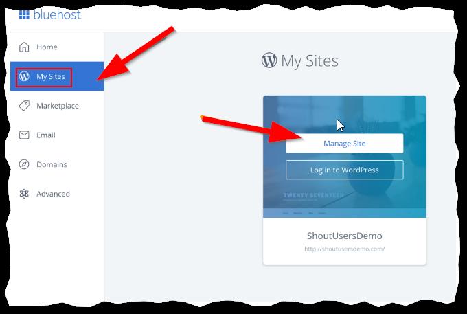 Install BlueHost WordPress Free SSL