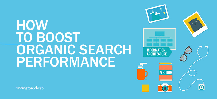 How To Boost Organic Search Performance (DIY Guide) #Blogging #SEO #Marketing