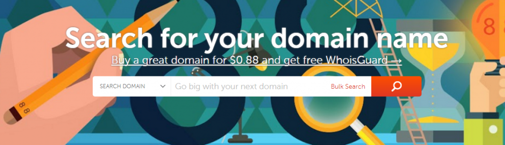 WordPress Test Site - NameCheap DOmain Registrar