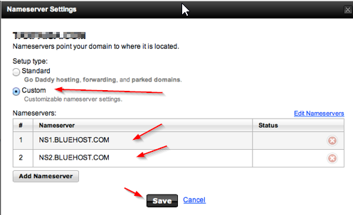 How To Point Godaddy Domain to BlueHost?