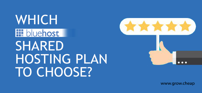 Which BlueHost Shared Hosting Plan To Choose?