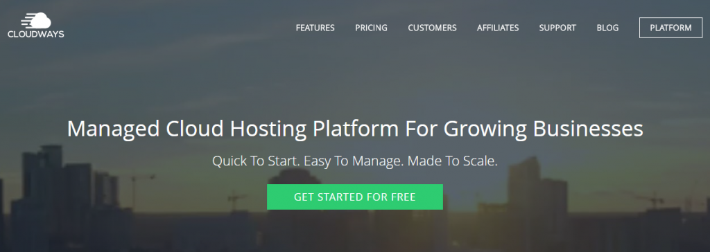 CloudWays WordPress Free Trial