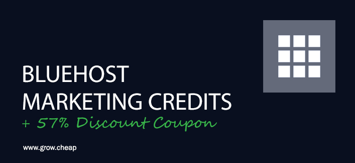 bluehost-marketing-credits