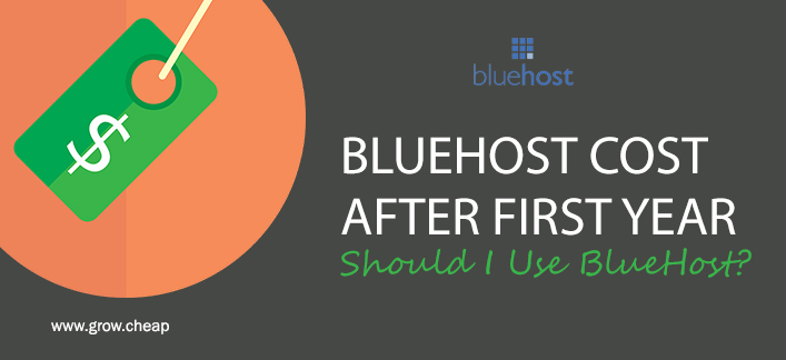 BlueHost Cost After First Year: Should I Use BlueHost? #Hosting #BlueHost #Renewal