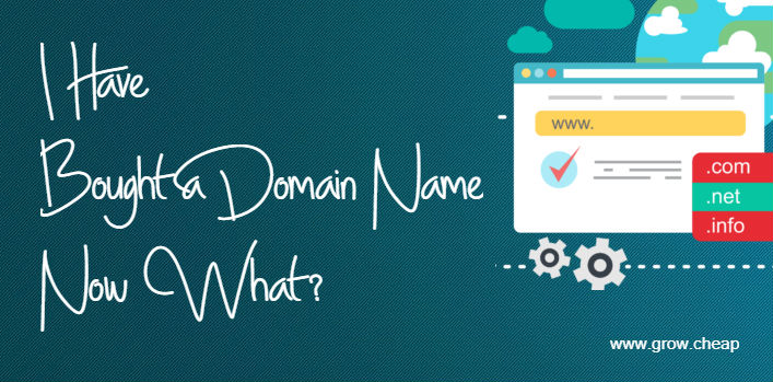 I Have Bought a Domain Name, Now What? (Guide) #WordPress #Blogging