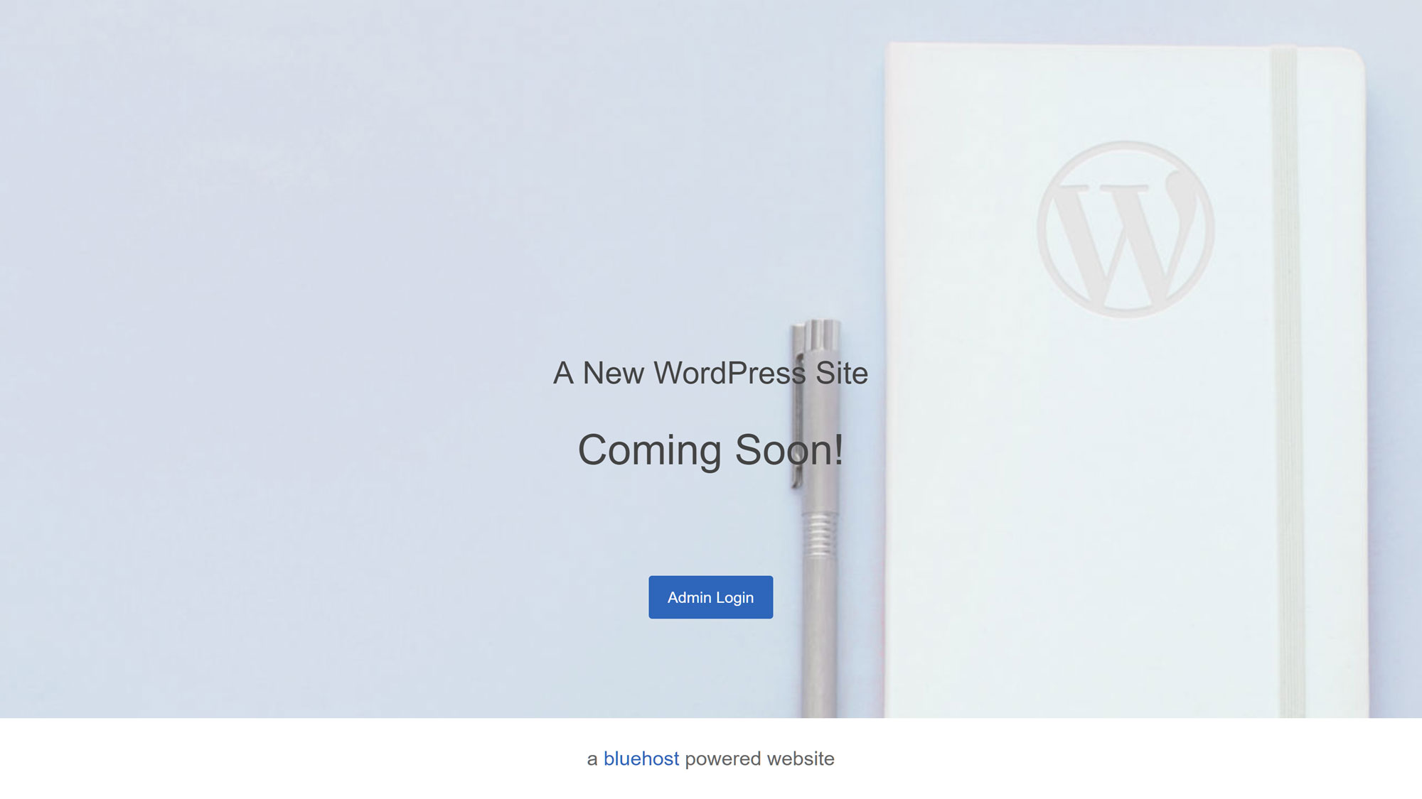 How To Build a Website on BlueHost - Coming Soon Page