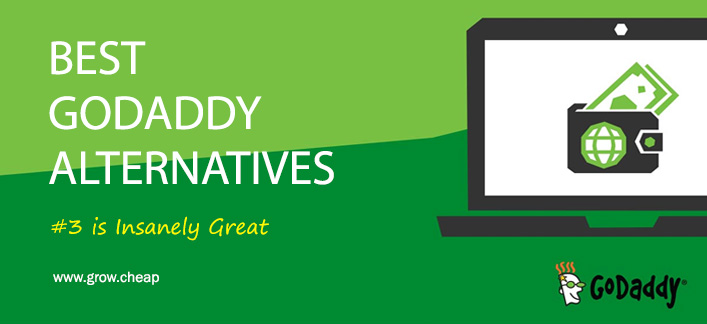 6+ Best GoDaddy Alternatives [#3 is Insanely Great] #GoDaddy #Hosting #Alternatives