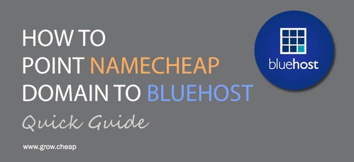 How To Point NameCheap Domain To BlueHost (Quick) #BlueHost #NameCheap #DNS
