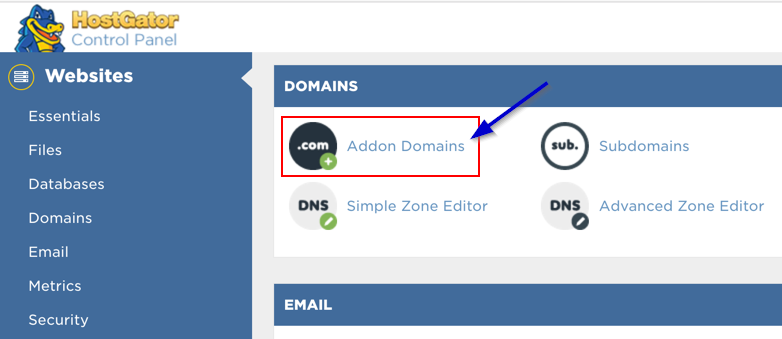 How To Add Another Domain to HostGator