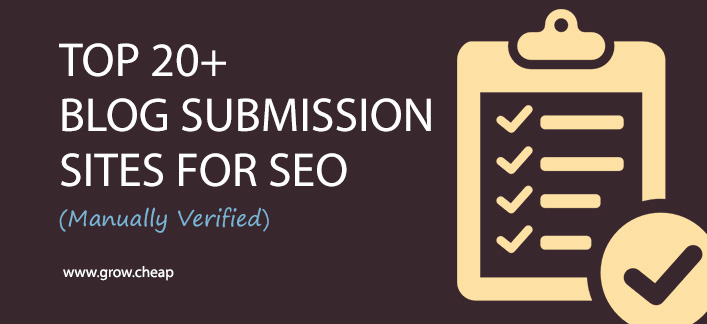 20 Best Free Blog Submission Sites for SEO (Verified)