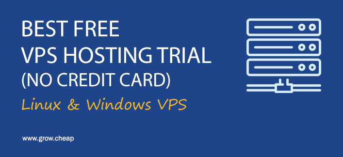 free vps trial no credit card 2018