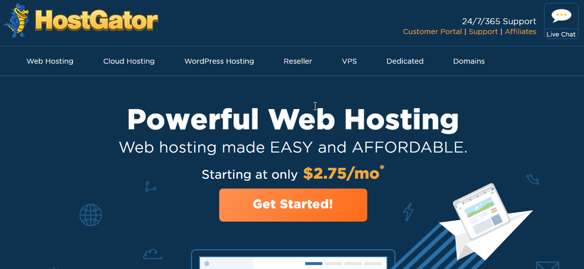 hostgator business plan toll free number