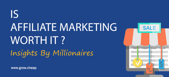 Is Affiliate Marketing Worth It? (Millionaires Insights) #Affiliate #Marketing #Effort #SEO #Blogging