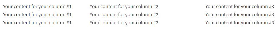 three-columns-wordpress-no-plugin
