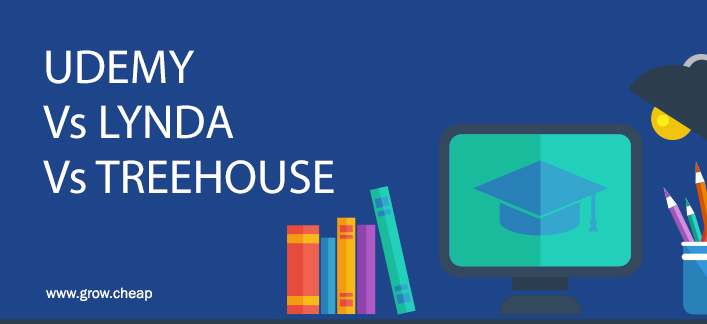 Udemy Vs Lynda Vs TreeHouse (Best Online Learning Site) #Udemy #Lynda #TreeHouse