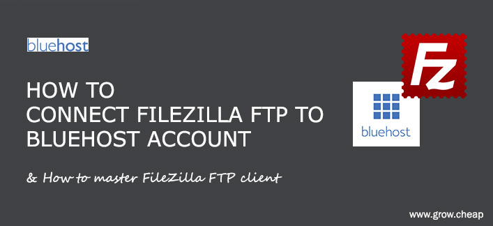 How To Connect FileZilla FTP To Bluehost (Quick) #BlueHost #FileZilla #FTP #WordPress
