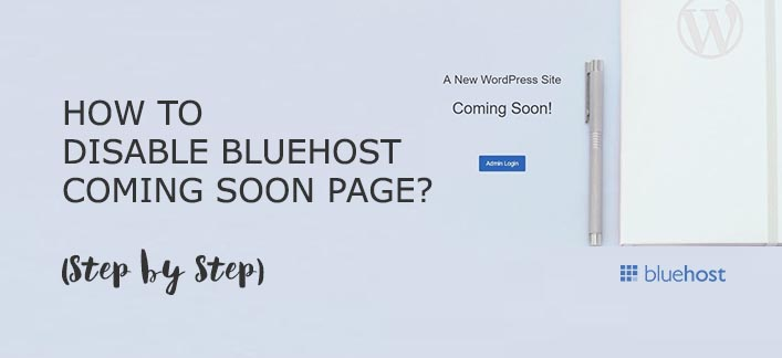 How To Remove BlueHost Coming Soon Page? #BlueHost #ComingSoon #MojoMarketplace