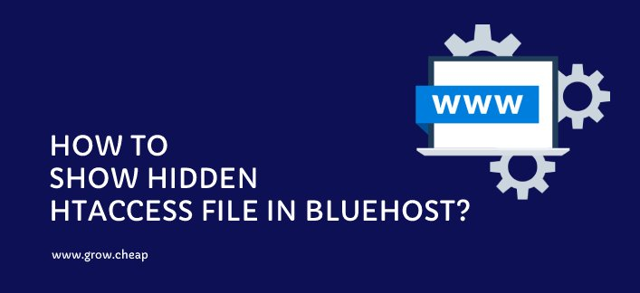 How To Fix Hidden HTaccess file in BlueHost? #HTaccess #BlueHost