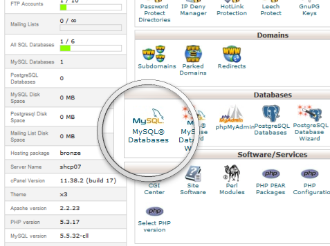 mysql-databases-cpanel