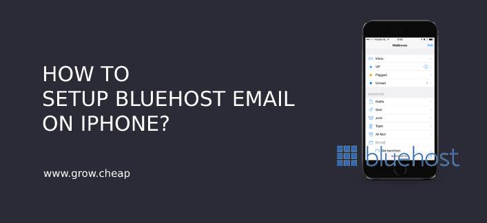 How To Setup BlueHost Email On iPhone? (Quick) #BlueHost #iPhone