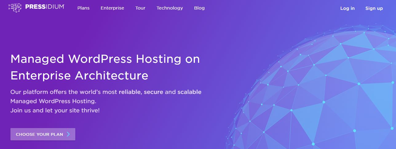 Pressidium Managed WordPress Hosting