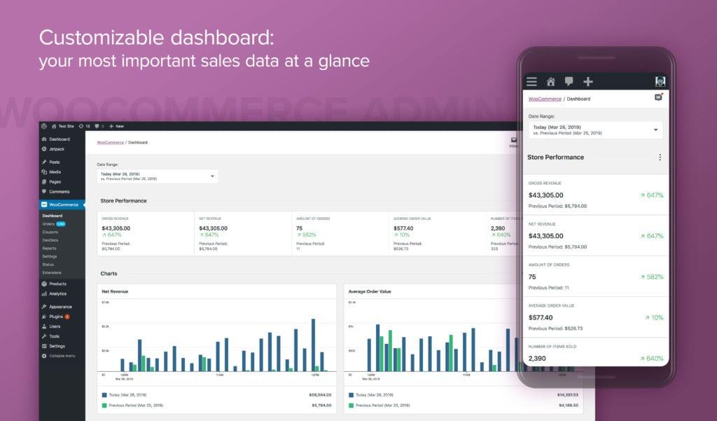 SamCart Vs WooCommerce Dashboard