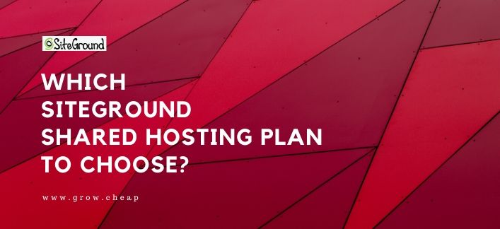 SiteGround Shared Hosting
