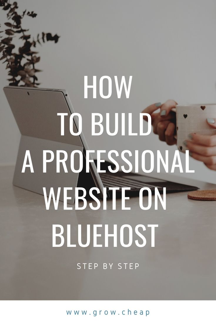 Build Website BlueHost
