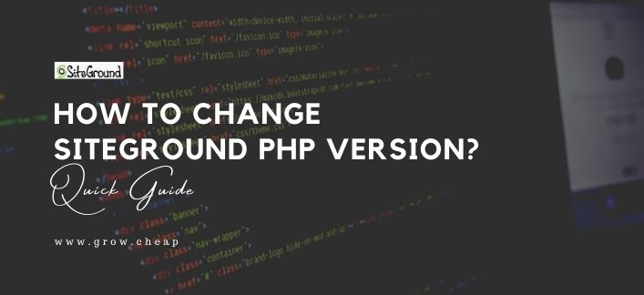 How To Change SiteGround PHP Version? (Quick)