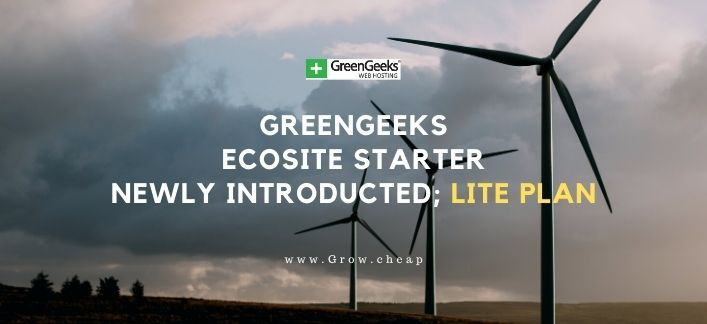 GreenGeeks EcoSite Starter Review: Lite Plan Update